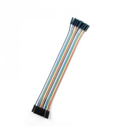 Cable Dupont 20cm H-H x20 Uds.